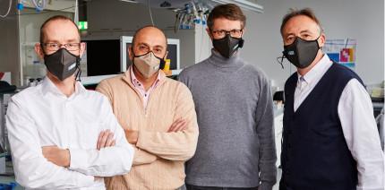 Schweizer Forscher entwickeln selbstdesinfizierende Maske