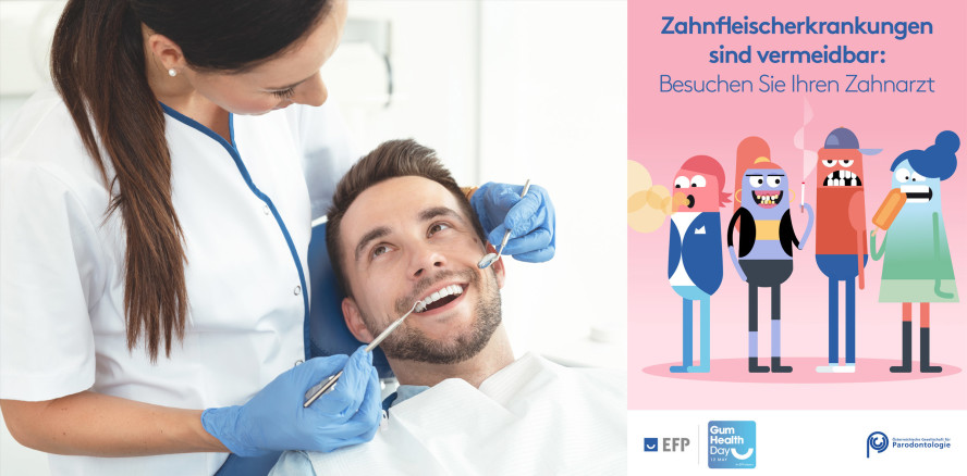 Gum Health Day am 12. Mai: Mit einem Lächeln gegen Parodontitis