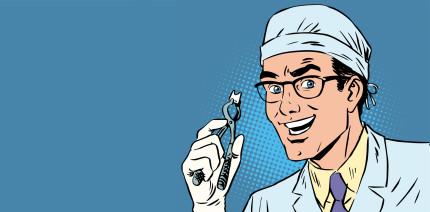 Bewertungsplattformen: Zahnärzte am häufigsten und besten bewertet