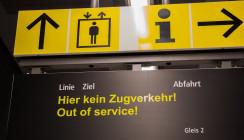 Bahnausfälle entschuldigen kein Zuspätkommen im Job