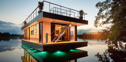 Das Rev House – die schwimmende Luxus-Immobilie