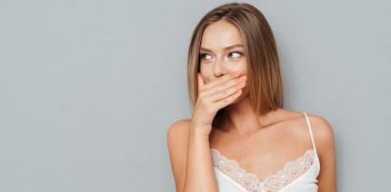 Deutsche schämen sich am meisten für Mundgeruch