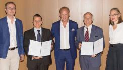 Ehrentitel der MedUni Wien an Prof. Sculean und Prof. Redl