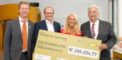 Zahngoldsammlung: 280.000 Euro für Kinderkrebshilfe