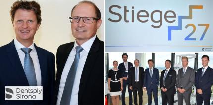 """Dentsply Sirona eröffnet """"Stiege 27"""" über den Dächern von Wien"""