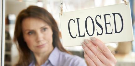 Arbeitgeber: Erst nach Bekanntgabe von Stilllegung kündigen