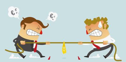 Das liebe Geld - Streitthema Nummer 1 am Arbeitsplatz