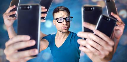 Social-Media-Stress kann zu Social-Media-Sucht führen