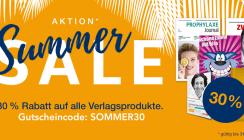 Letzte Chance nutzen! Summer Sale auf www.oemus-shop.de