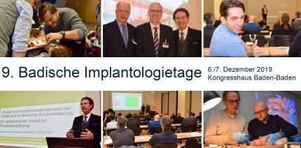 9. Badische Implantologietage erneut hochkarätig