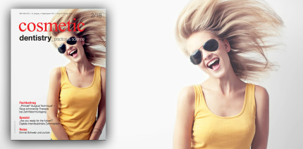 Aktuelle Ausgabe der Cosmetic Dentistry als ePaper verfügbar