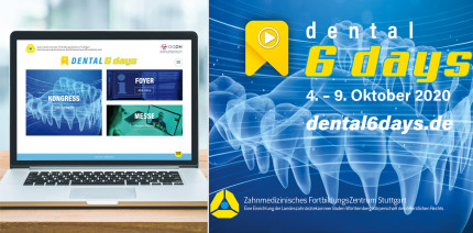 dental 6 days – digitaler Dentalkongress im Oktober