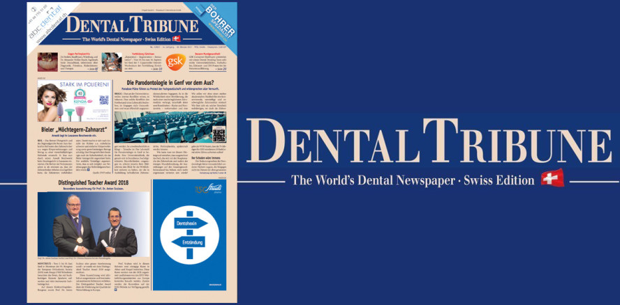 Aktuelle Dental Tribune Schweiz jetzt als ePaper lesen