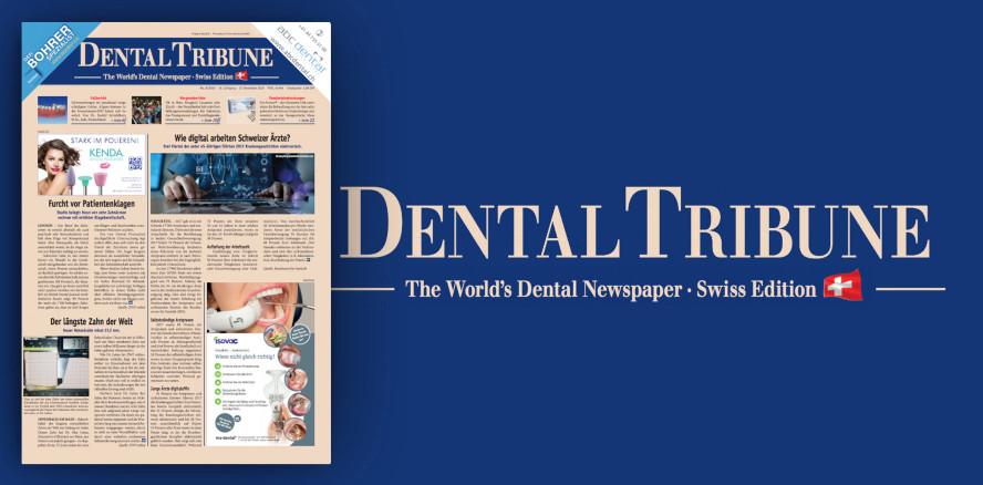 Online lesen: Die Dental Tribune Schweiz mit Fokus Parodontologie