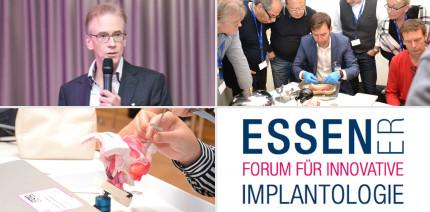 Im September in Essen – Forum für Innovative Implantologie
