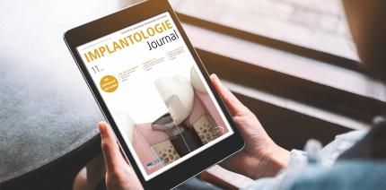 Implantologie Journal thematisiert minimalinvasive Implantattherapie