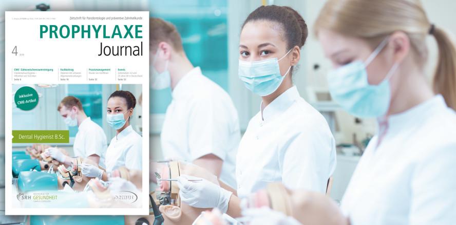 Aktuelles Prophylaxe Journal: PZR und Interdentalraumpflege
