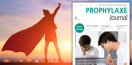 Fortbildungspower im aktuellen Prophylaxe Journal