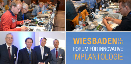 Wiesbadener Forum für Innovative Implantologie im Oktober