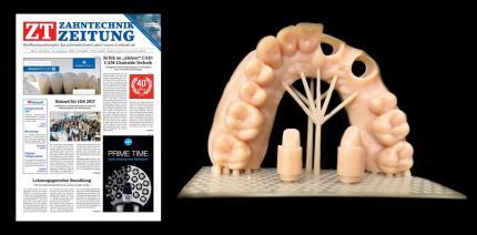 Jetzt die April-Ausgabe der ZT Zahntechnik Zeitung als ePaper lesen
