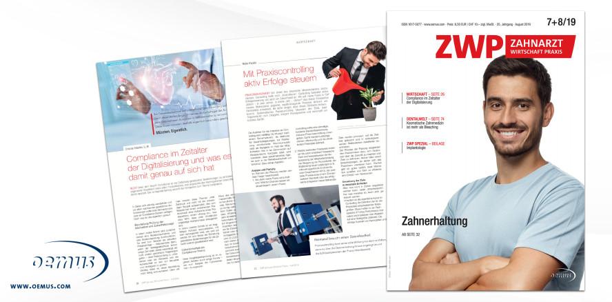"""ZWP mit Schwerpunktthema """"Zahnerhaltung & Endodontie"""""""