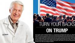 CEO von Ultradent Products, Dr. Dan Fischer, stellt sich offen gegen Trump