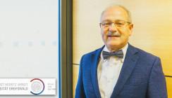 Greifswalder Zahnmediziner Prof. Biffar für sein Lebenswerk geehrt