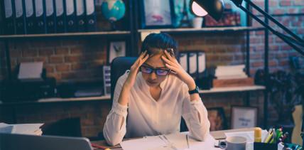 Überlange Arbeitszeiten stressen die Österreicher