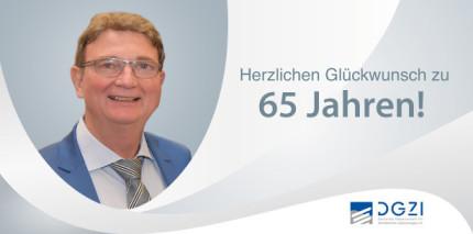 Dr. Rolf Vollmer feierte 65. Geburtstag