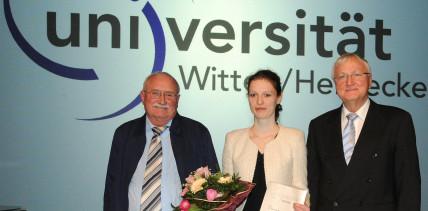 UW/H vergibt zum 15. Mal den Promotionspreis für Zahnmedizin
