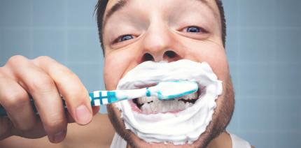 Zeig mir, wie du Zähne putzt, und ich sage dir, wie du tickst