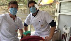 Zahnarzt-Helden: Behandlungseinheiten für Nepal