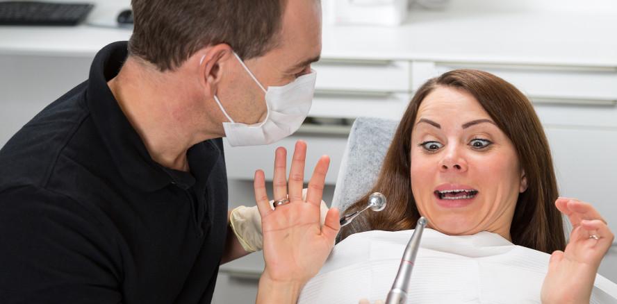 Haben Patienten mit Zahnarztangst schlechtere Zähne?