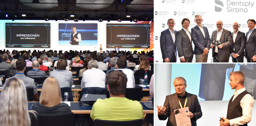 Dentsply Sirona Zahntechniker-Kongress in Frankfurt am Main