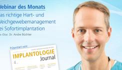 Webinar: Hart- und Weichgewebe- management bei Sofortimplantation