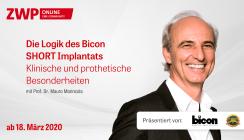 Die Logik des Bicon SHORT Implantats – Klinische und prothetische Besonderheiten