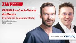 CAMLOG Live-Studio-Tutorial zur Evolution der Implantatprothetik