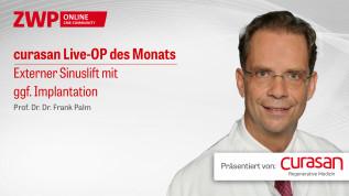 Live-OP Externer Sinuslift mit ggf. Implantation