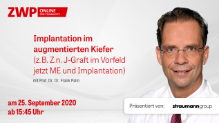 Implantation im augmentierten Kiefer (z.B. Z.n. J-Graft im Vorfeld jetzt ME und Implantation)