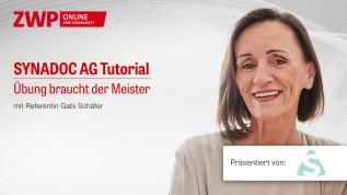 """Synadoc-Tutorial """"Übung braucht der Meister"""""""