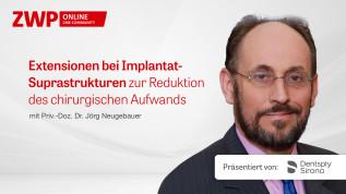 Extensionen bei Implantat-Suprastrukturen zur Reduktion des chirurgischen Aufwands