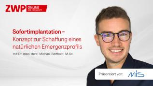 Sofortimplantation – Konzept zur Schaffung eines natürlichen Emergenzprofils