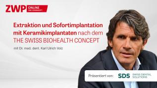 Extraktion und Sofortimplantation mit Keramikimplantaten nach dem THE SWISS BIOHEALTH CONCEPT
