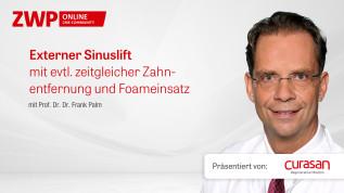 Externer Sinuslift mit evtl. zeitgleicher Zahnentfernung und Foameinsatz