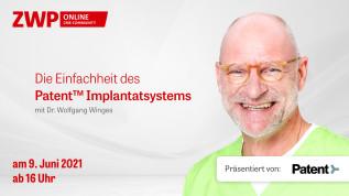 Die Einfachheit des Patent™ Implantatsystems