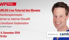 Ab 15 Uhr einschalten: CAMLOG Live-Tutorial mit Dr. Jörg-Martin Ruppin