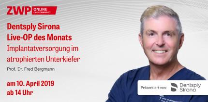 Heute ab 14 Uhr einschalten: Live-OP mit Prof. Dr. Fred Bergmann