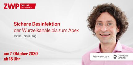 Live-OP: Sichere Desinfektion der Wurzelkanäle bis zum Apex