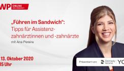 """Live-Tutorial: """"Führen im Sandwich"""" – Tipps für Assistenzzahnärzte"""