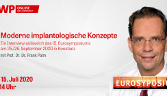 "Morgen: Web-Interview ""Moderne implantologische Konzepte"""
